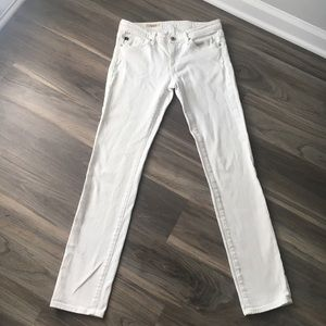 AG Adriano Goldschmied Slim Straight Jeans 27R